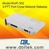 RoIP 302 Cruz de la red de puerta de enlace / sistema de intercomunicación