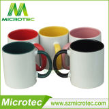 11oz Sublimation Inner及びHandle Color Coated Ceramic Coffee Mug (MT-B002H)