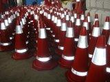 Cônes en caoutchouc de sécurité routière de Workarea (CC-A13)