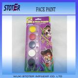 Pintar ventiladores da esfera enfrentam os suportes principais de Halloween das pinturas de Halloween da face do palhaço