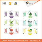 Polijst het Document Afgedrukte Zelfklevende Etiket die van de Markering Transparante Sticker afdrukken