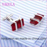 VAGULAの品質の熱い販売の極度の品質の銀のGemelosのカフスボタン (325)