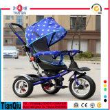 Vente chaude 2016 Nouveau design Tricycle bébé 3 roues Scooter Bicyclette pour enfants