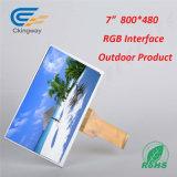 """7 de """" RGB Vertoning van het Scherm van de Interface 800*480 LCD"""
