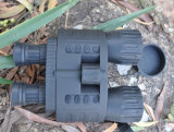 """la gama binocular de la visión nocturna los 300m de 4X50 Digitaces toma la foto 5MP y el vídeo 720p con 1.5 """" TFT LCD"""