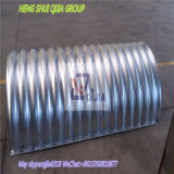 Q235 Material Metal Corrugated Pipe Culvert für Highway