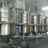 raffinage d'huile végétale de raffinerie de l'huile de soja 15t/D