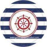 Los items decorativos del OEM del profesional venden al por mayor la placa de papel colorida