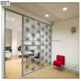 Los sistemas Tempered de las puertas deslizantes del vidrio laminado calificaron con el CE, SGS