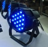 RGBW IP65 Building Color Wash 54X3w LED PAR Can