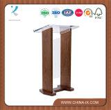 Передняя панель деревянного & акрилового подиума опционная перекрестная обыкновенная толком