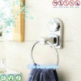 Кольцо полотенца отделки крома изделий гостиницы ванной комнаты вспомогательной санитарной установленное стеной
