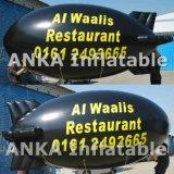 Воздушный шар Zeppeline гелия напольный рекламировать раздувной