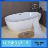 Bañera libre de lujo, bañera de la alta calidad, tina de acrílico Jr-B821 del claro