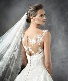 Nouveau bateau Neckline Straps Princess A - ligne Wedding Dress de Style Lace