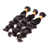 Preiswertes Haar-Extensions-Jungfrau-indisches Großhandelshaar-wellenförmiges Haar (FDX-SM-2016-6)
