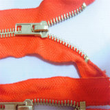 Fabricant Top Quality # 5 Metal Zipper Auto Lock Open End