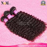 今報酬の毛のバージンのマレーシアの深い波/堅く巻き毛の人間の毛髪のブレード