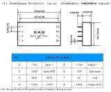 48V al convertidor de la C.C. de la C.C. de 110V 220V 250V con la gama de la entrada del 2:1