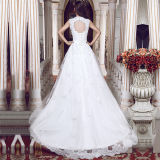 Laço Tulle Real Photos A - linha Wedding Dresses (TM-MS020)
