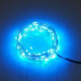 Weihnachtszeichenkette-feenhafte Lichter der Stern-Form-LED mit batteriebetriebenem