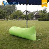 A configuração preguiçosa da base ensaca o sofá inflável do ar do saco de sono da banana de Laybag do Hammock dos sacos de feijão