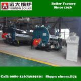 gaz industriel de 1ton 2ton 4ton 6ton ou carburant diesel, prix de chaudière à vapeur de pétrole lourd