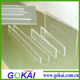 Clear y White transparentes Acrylic Plexiglass Sheet