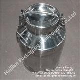 Récipient d'entreposage de haute résistance de lait d'acier inoxydable