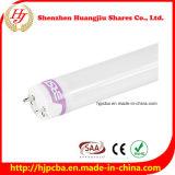 tubo de 18W T8 LED con la cubierta helada