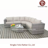 Nuovo Style Wicker Sofa Set in Grey (1403)