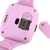 El perseguidor SOS del GPS llama a cabritos reloj elegante para el niño del bebé