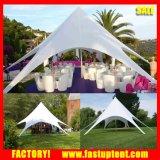 Form-Stern-Farbton-einzelnes Pole-Aluminiumzelt für Hochzeitsfest