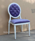 2015 ultimo Hot Stackable Ghost Chair con Super Strong 2.0mm Aluminum Frame