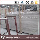 Мрамор белой серой вены Китая деревянный для проекта гостиницы