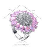 In het groot Roze nam de Zilveren Juwelen van de Ring in Voorraad toe (r-0054)