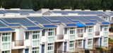 Système solaire de bride de tuile de W1color de toit en acier de picovolte