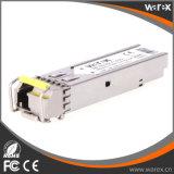 приемопередатчик Tx 1550nm Rx 1310nm 3km 1.25G Hot-Pluggable BIDI SFP оптически с DDM