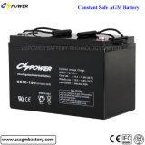 Batterie d'acide de plomb 12V180ah de la longue vie AGM pour le stockage de l'énergie