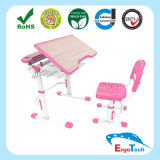 Metal e Plastic Kid Learning Desk e Chair multifunzionali