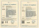 Conector masculino BNC de la compresión del CCTV para el cable Rg59 (CT5078S/RG59)
