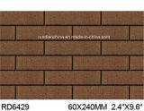 Exterior Wall Brick 60*240mm Rd6429のための粘土Split Tile