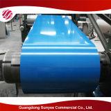 Hoja de acero galvanizada cubierta color acanalado del material de material para techos PPGI