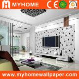 Het zwart-witte Document van de Muur voor Decoratief Materiaal