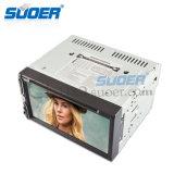 Lettore DVD dell'automobile del giocatore di multimedia di BACCANO del doppio di alta qualità di Suoer (MP-1069)