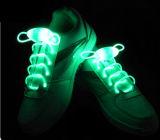 El cordón de zapato ligero del LED enciende para arriba cordones de zapato