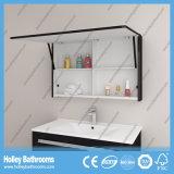 Bañera de luz LED táctil interruptor de alto brillo de pintura hotel tocador de baño Gabinete-B808d