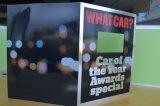 Tarjeta de felicitación del LCD que hace publicidad del jugador - Tarjeta-Vídeo video del saludo en la impresión