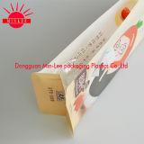 Bolso de empaquetado del café del cuadrado de la parte inferior de la insignia de la impresión de la muestra