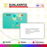 Smart card branco puro de revestimento Printable